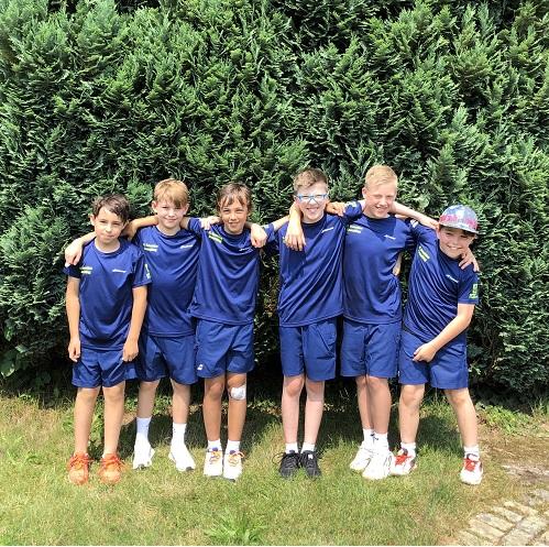 Neue Mannschaft Junioren U12 gewinnt ihr erstes Medenspiel