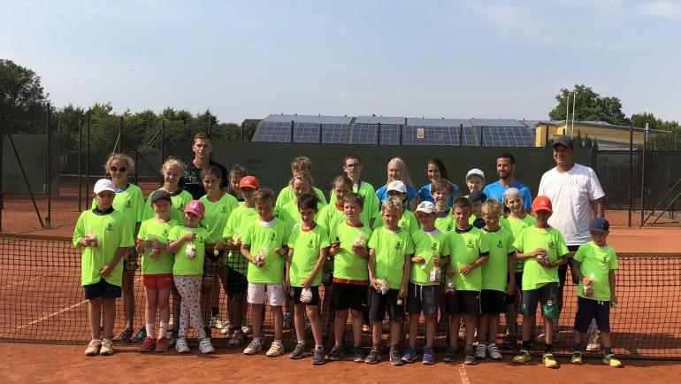 Erfolgreiches Tennis-Camp mit 29 Teilnehmern