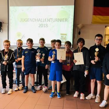 Nachwuchs vom TC Hilden e.V. spielte am 9.12.2018 beim Jugendhallenturnier.